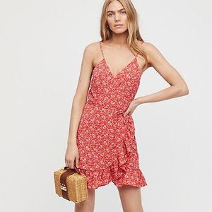 Free People All My Love wrap dress